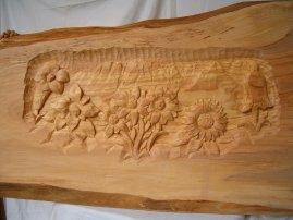 Pietro sandrini scultore a pontedilegno for Cabine laterali in legno di cedro